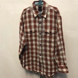 GAP Flannel Cotton Plaid Shirt - Size 10